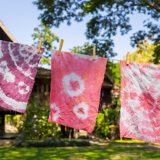 Stoffe färben – Batik ist Trend.