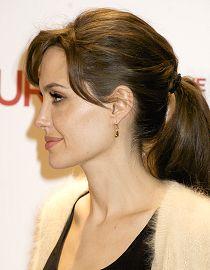 Ponytail, Angelina Jolie
