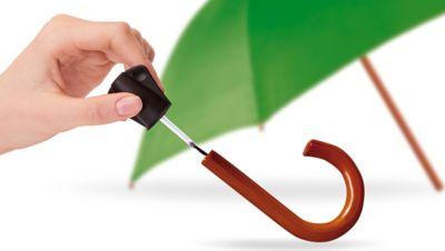 Come riparare un manico d'ombrello?