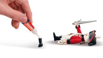 Come riparare un giocattolo di plastica?