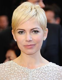 Coupe garçonne, Michelle Williams