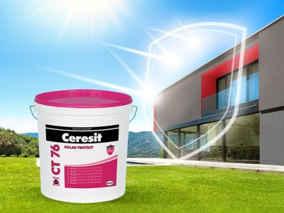 CT 76 plaster protects your facade