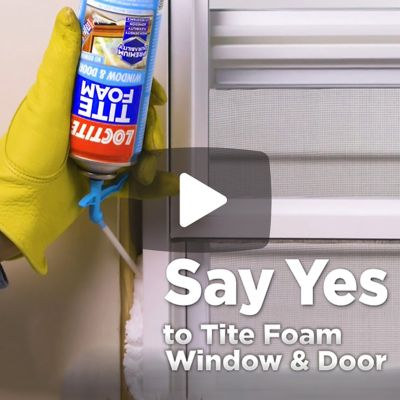 TITE FOAM Window & Door Insulating Foam Sealant