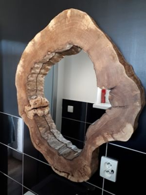 Zrcadlo ze dřeva s Pattexem One For All High Tack