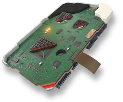 ilustración de los adhesivos utilizados en la PCB