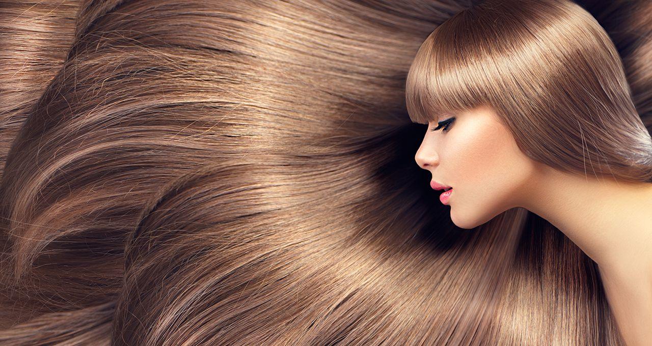 Светлые, длинные волосы