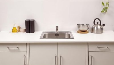 Renovar las juntas del fregadero de la cocina