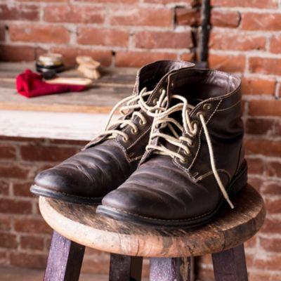 Repairing a shoe
