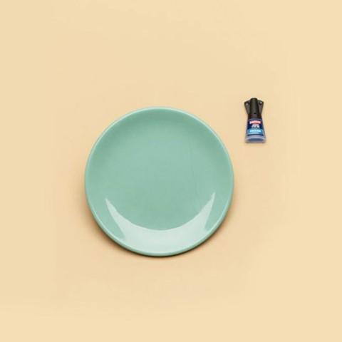 Réparer un verre, un bol ou une assiette