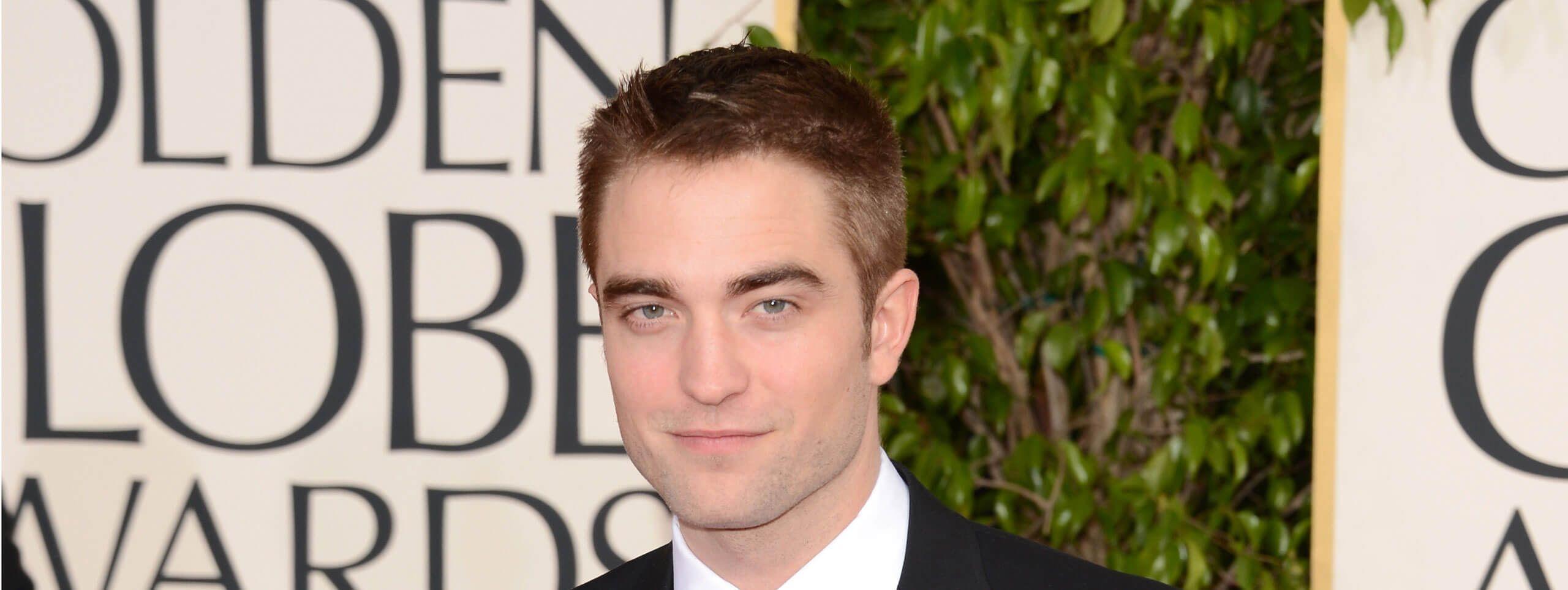 Robert Pattinson coupe courte classique