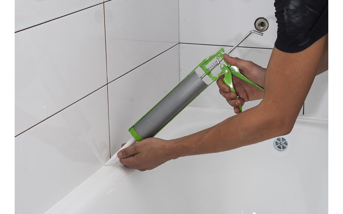 Faire les joints de baignoire