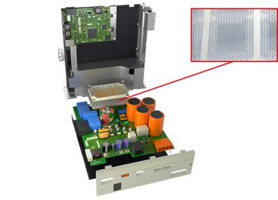 Servo Drive - Power Module with Phase Change Material