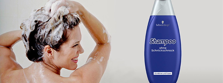 Shampoo ohne Schnickschnack