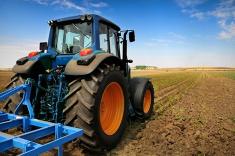 decorative image of agricultural equipment