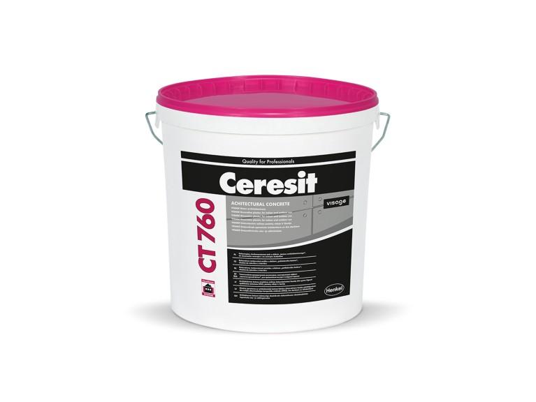 Ceresit CT 760 - VISAGE dekoratívna omietka s dizajnom architektonického betónu