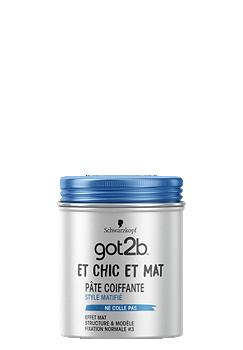 Thumbnail – Pâte Coiffante Matifiante Et Chic Et Mat