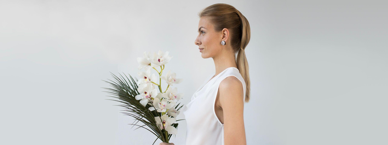 Wedding hair styles. Bridal hairdos.