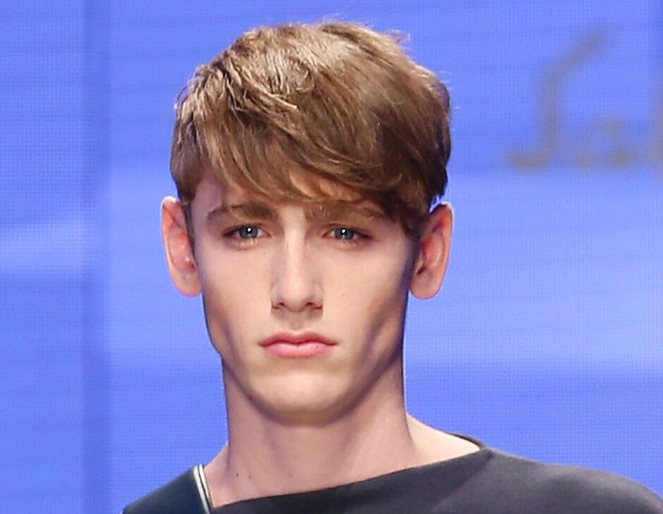 Kurze blonde haare männer strähnen Kurzhaarfrisuren männer