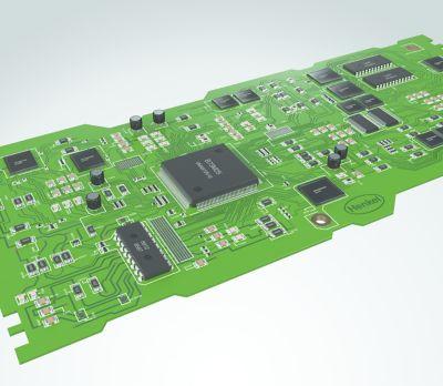 circuit imprimé comprenant des matériaux de soudure