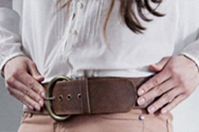 How to repair a split or fraying leather belt?