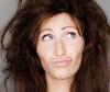 Strohiges-Haar
