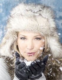 Styling Tips for Hair underneath Fur Hats