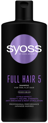 SYOSS FULL HAIR 5 Шампоан