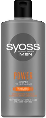 Шампоан SYOSS MEN POWER