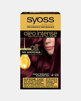 Боя за коса Syoss Oleo Intense Бургундско червен 4-23