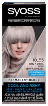 Syoss permanentní barva Ultra platinová blond 10_55