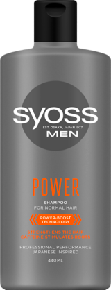 SYOSS MEN POWER šampon