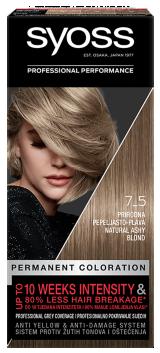 Syoss trajna boja za kosu Prirodna pepeljasto-plava 7-5