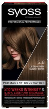 Syoss boja za kosu Lješnjak smeđa 5_8