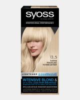 Trajna barva za lase Syoss – Platinasti posvetljevalec 13-5
