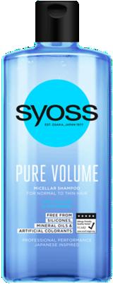 SYOSS PURE VOLUME micelarni šampon