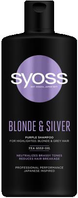 SYOSS BLONDE & SILVER sampon