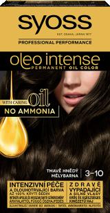 Syoss Oleo Intense tartós hajfesték MÉLYBARNA 3-10