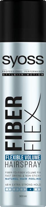 Syoss Fiberflex Rugalmas Volumen Hajlakk