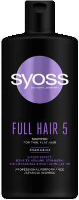 SYOSS FULL HAIR 5 sampon