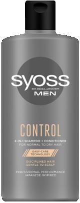SYOSS MEN CONTROL 2 AZ 1-BEN Sampon + Hajbalzsam