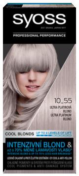 Syoss tartós hajfesték Cool Blondes ULTRA PLATINASZŐKE 10_55