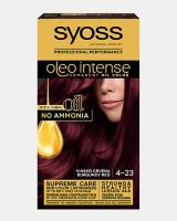 Trajna barva za lase Syoss Oleo Intense Vinsko rdeča 4-23