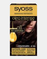 Trajna barva za lase Syoss Oleo Intense Čokoladno rjava 4-86