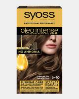 Trajna barva za lase Syoss Oleo Intense Temno blond 6-10