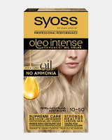 Trajna barva za lase Syoss Oleo Intense Pepelnato blond 10-50