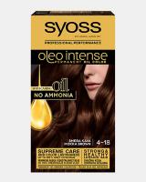 Trajna barva za lase Syoss Oleo Intense Rjava kava 4-18
