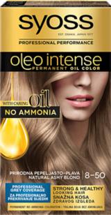 Syoss Oleo Intense Prirodna pepeljasto-plava 8-50