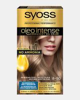 Trajna barva za lase Syoss Oleo Intense Naravna pepelnato blond 8-50