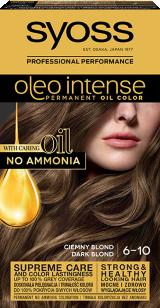 Syoss Oleo Intense Trwała Koloryzacja Z Olejkiem Ciemny Blond 6-10