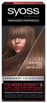 Syoss Trwała Koloryzacja Ciemny Perłowy Blond 7_53